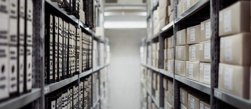 Deposito per contabilità e documentazione di aziende e studi professionali