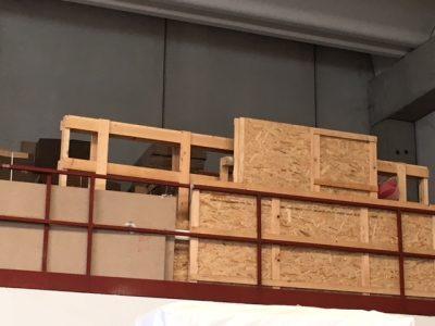 Accurata preparazione di tutto il materiale da traslocare
