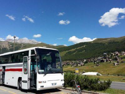 Noleggio pullman Brescia. Noleggio Bus con Conducente per Gite in Montagna