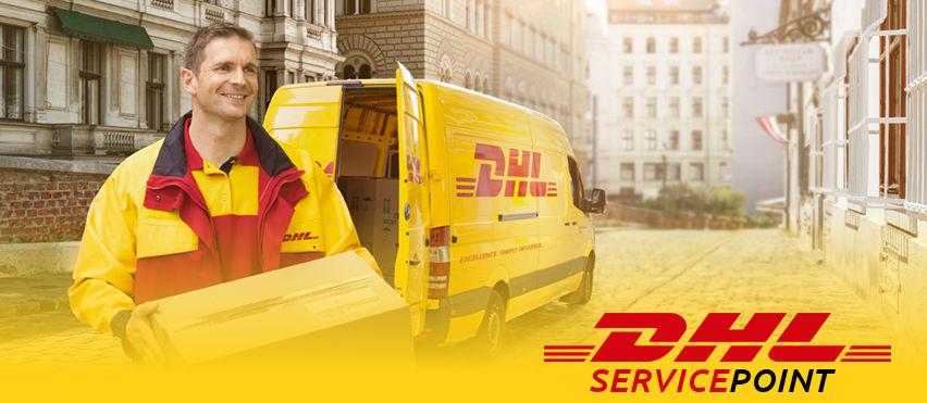 Ritiro e Spedizione Pacchi con Service Point DHL