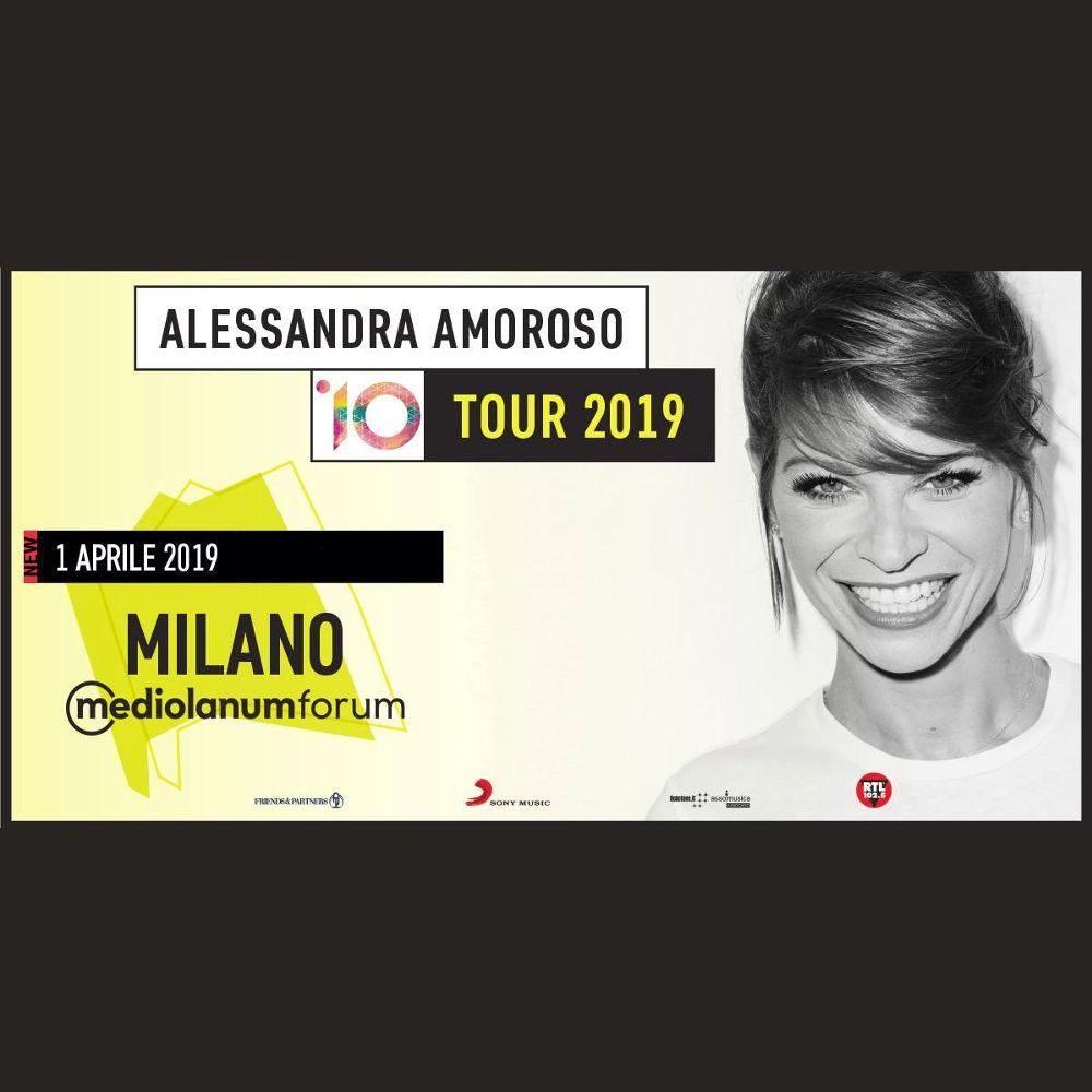 Trasporto Concerto Alessandra Amoroso - Mediolanum Forum di Assago (Milano) - 01/04/2019